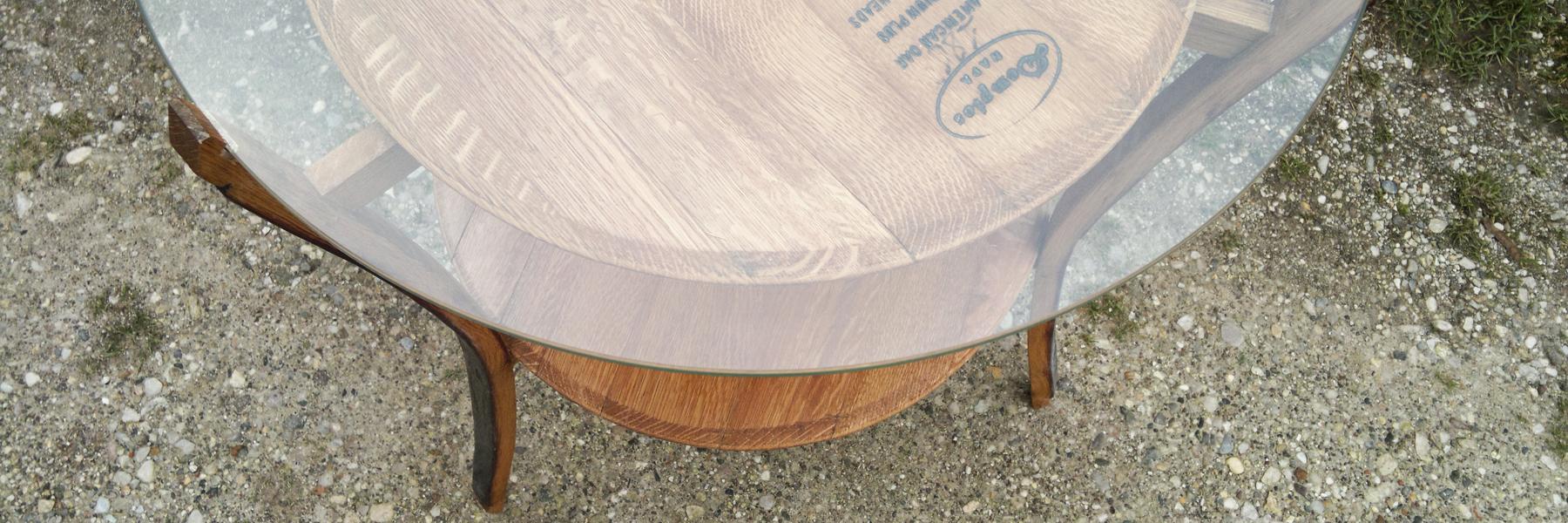 Tavolino barrique