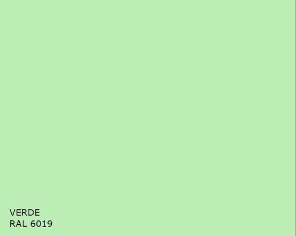 Verde RAL 6019