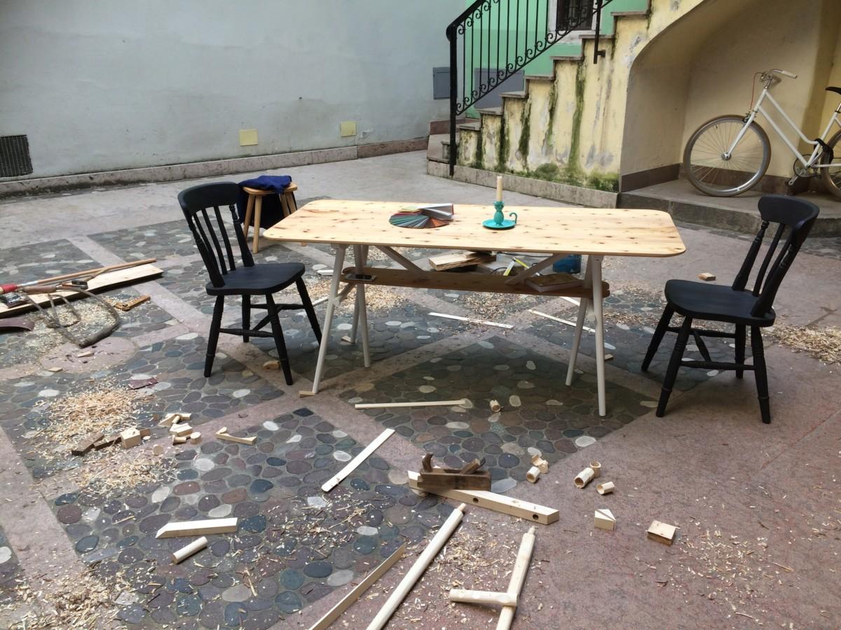 Tavolo da pranzo Piuma