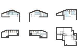 Mansarda, progettazione d'interni